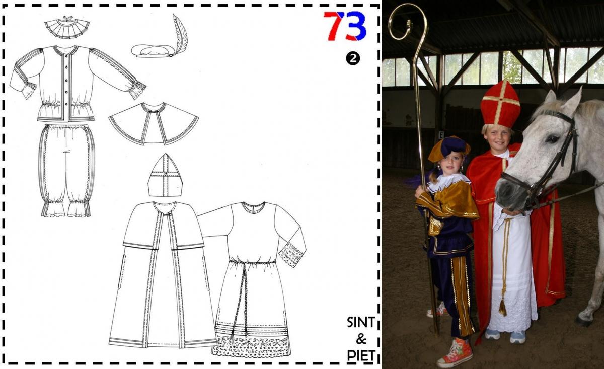 Abacadabra Patroon nr.73 Sinterklaas en Zwarte Piet