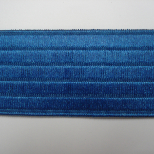 Effen Elastiek Kobalt blauw 4,4 cm breed €2,75 p/m