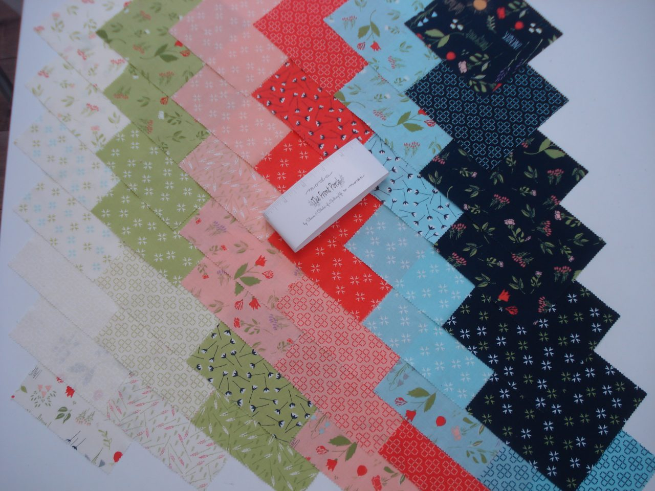 Charm Pack The Front Porch by Sherri &Chelsi of a quilting life for Moda
