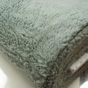 Borg Teddy 80% Katoen dusty green 126
