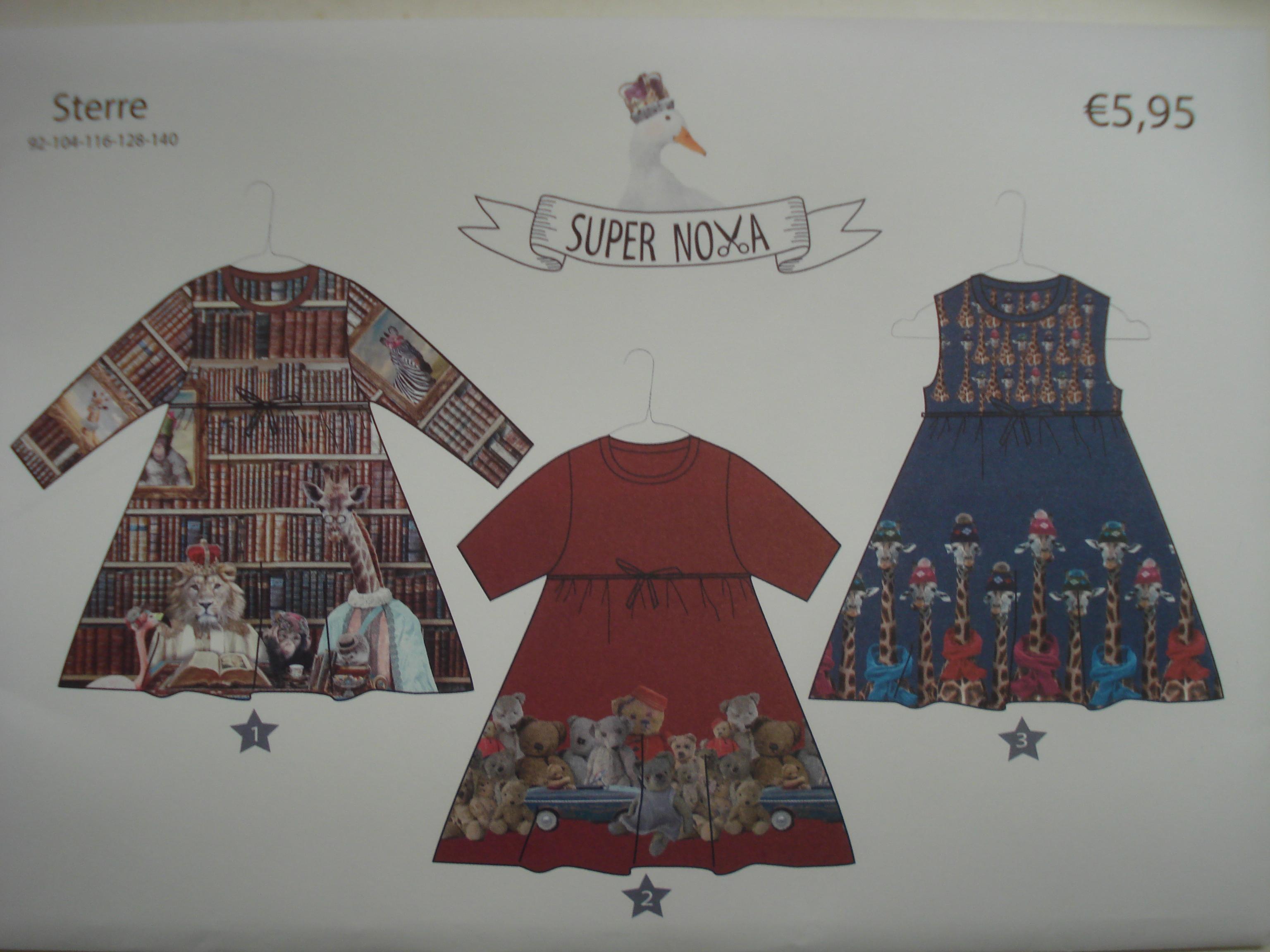 Sterre van Super Nova Patroon