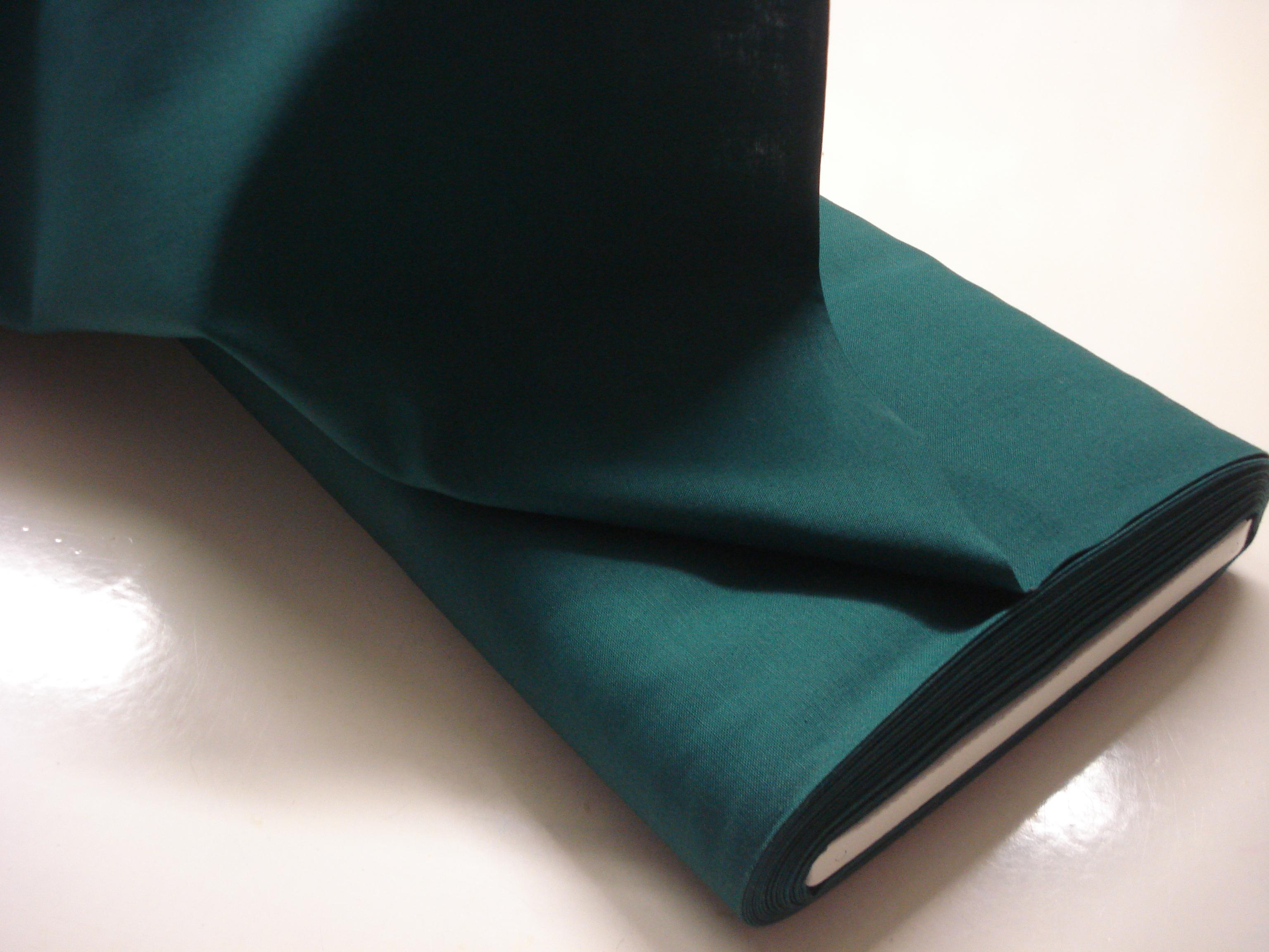 Katoen effen - Groen