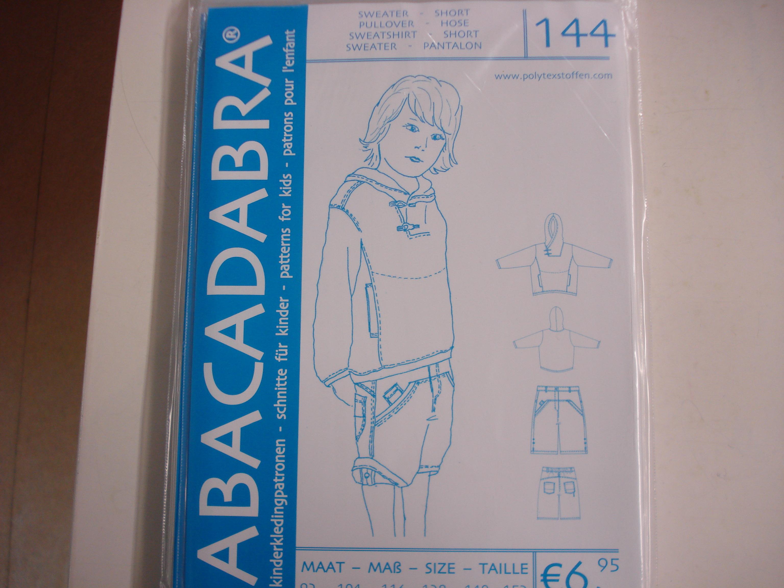 Abacadabra Patroon nr.144
