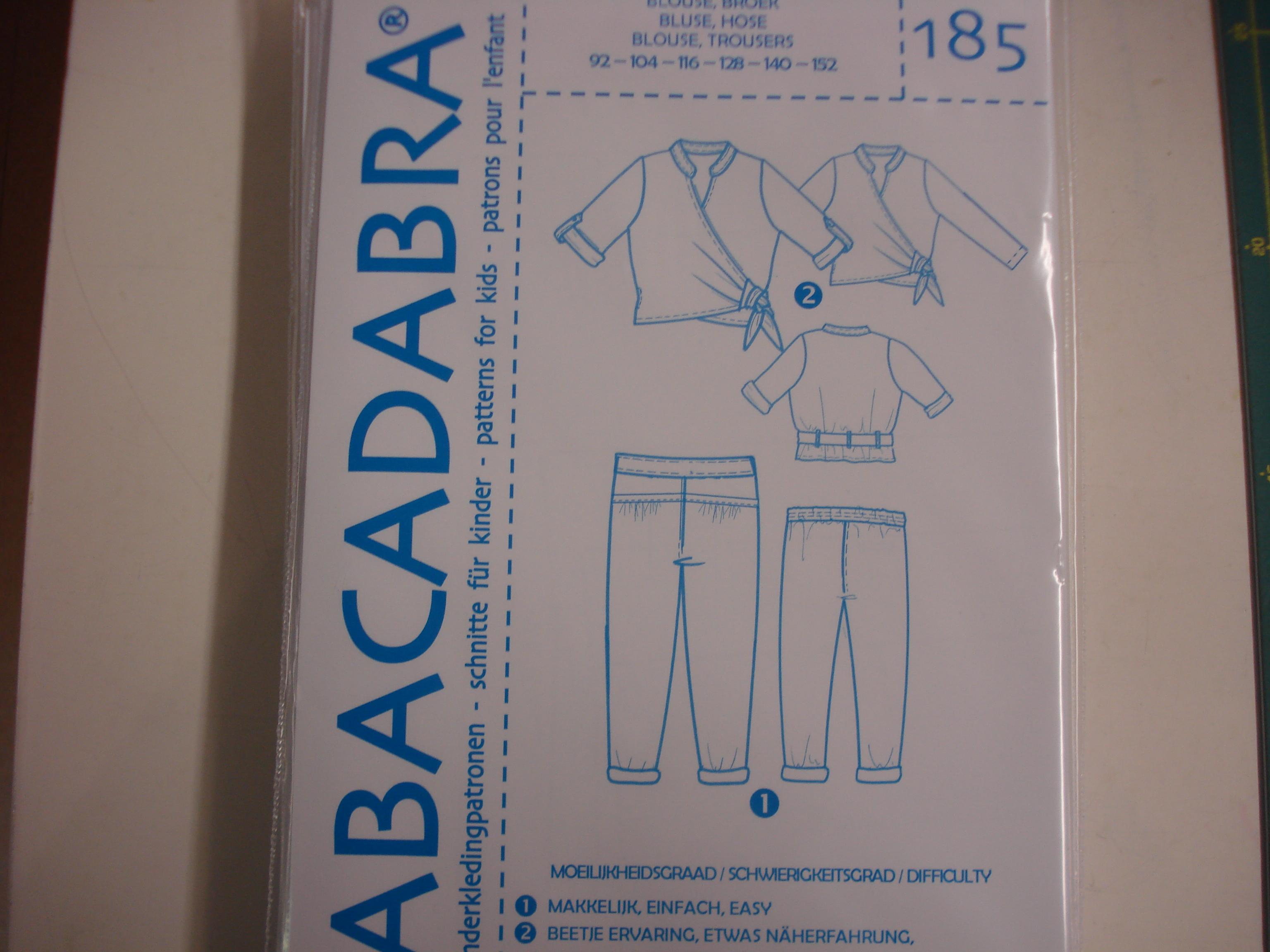 Abacadabra Patroon nr.185