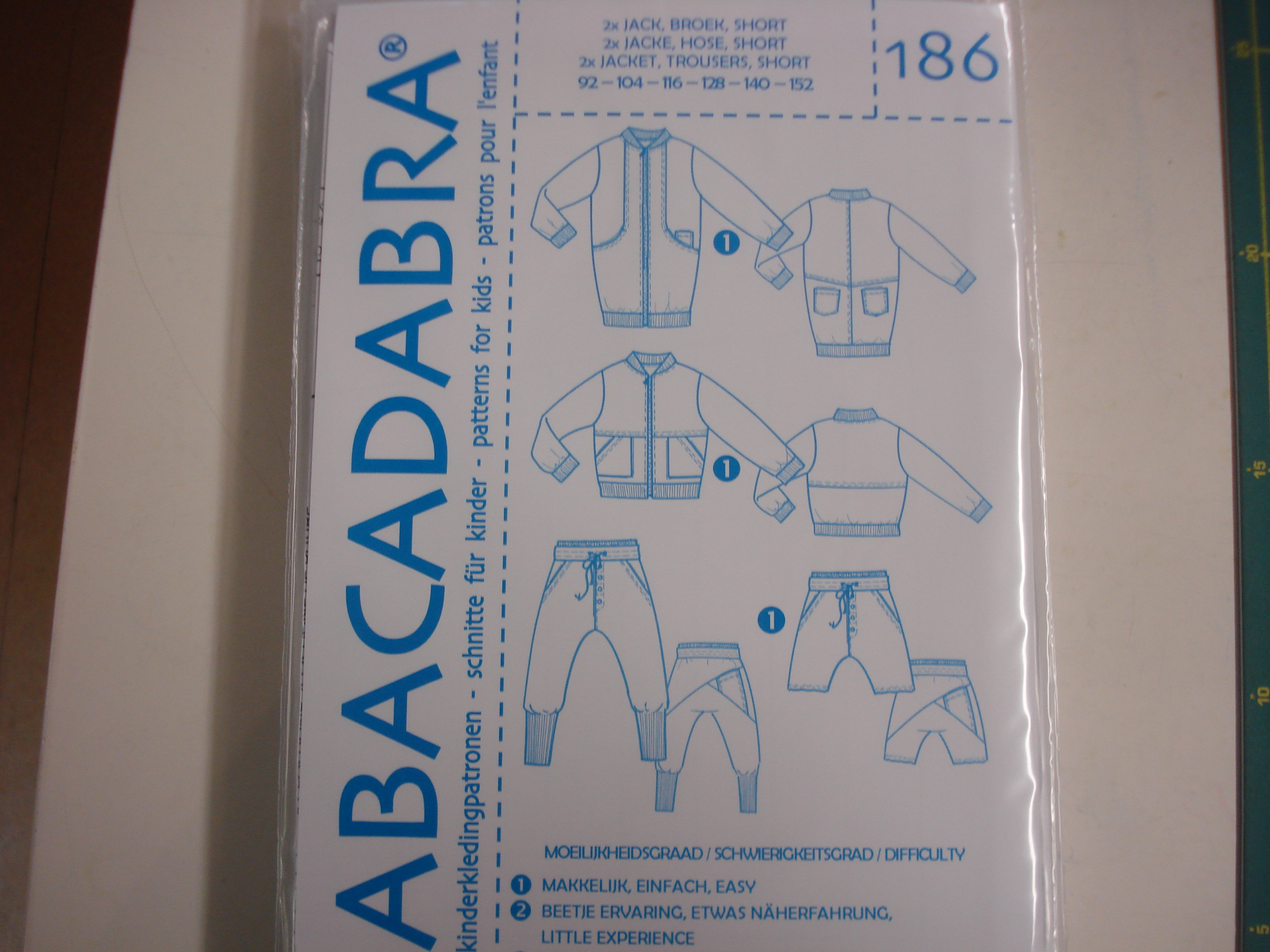 Abacadabra Patroon nr.186