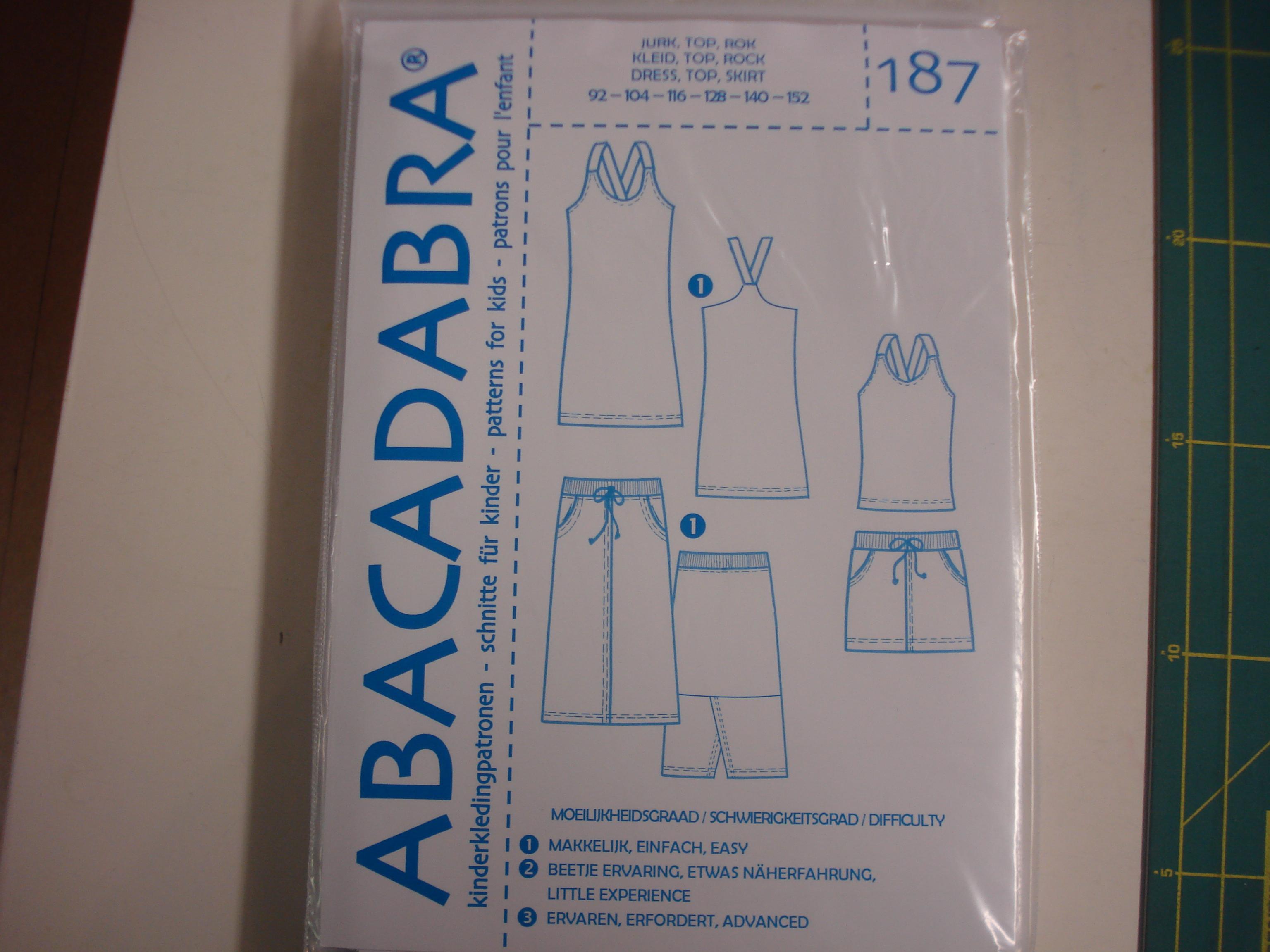 Abacadabra Patroon nr.187
