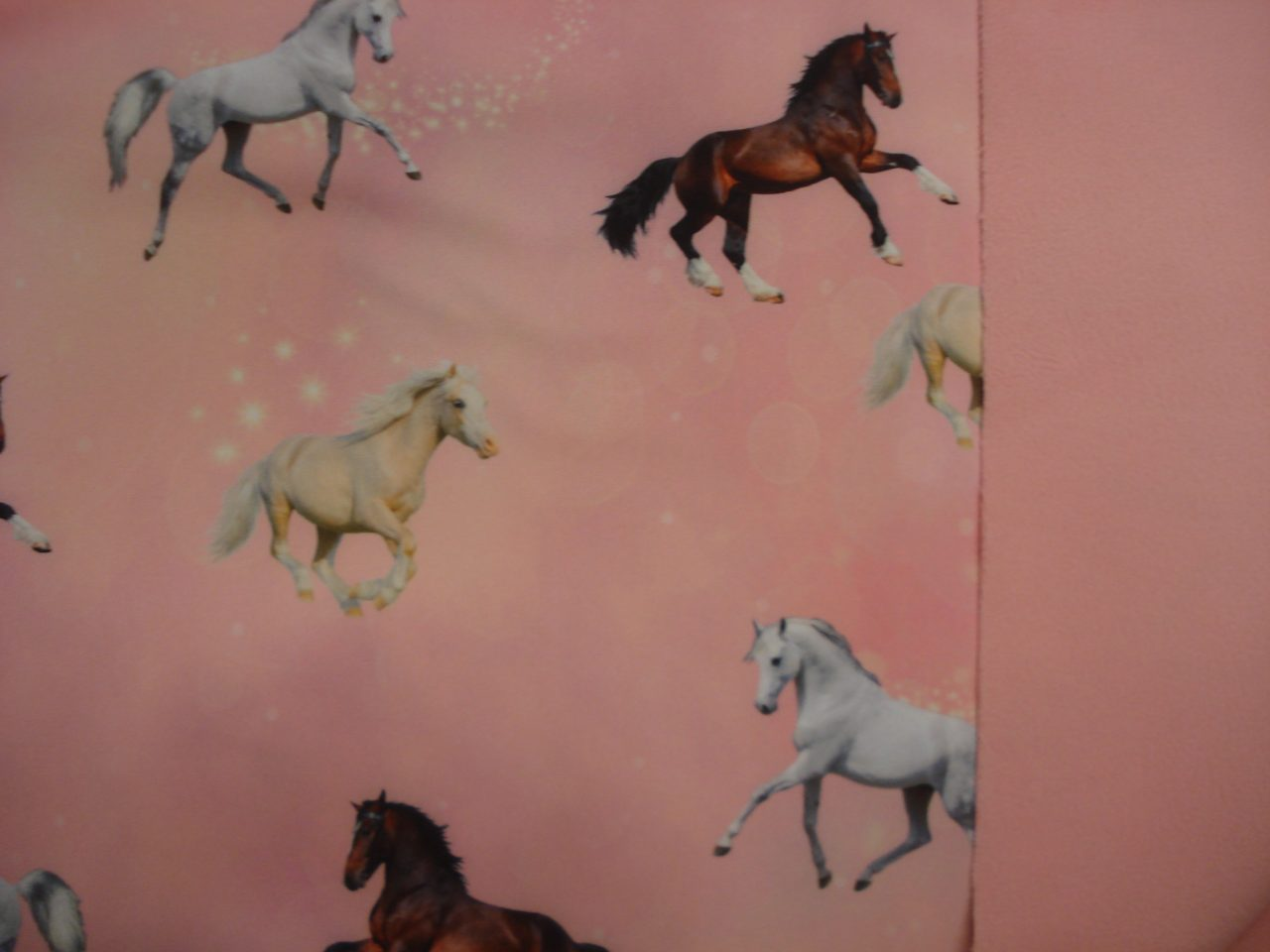 Soft Shell Digitale print Heavenly Horses € 17,96 per meter