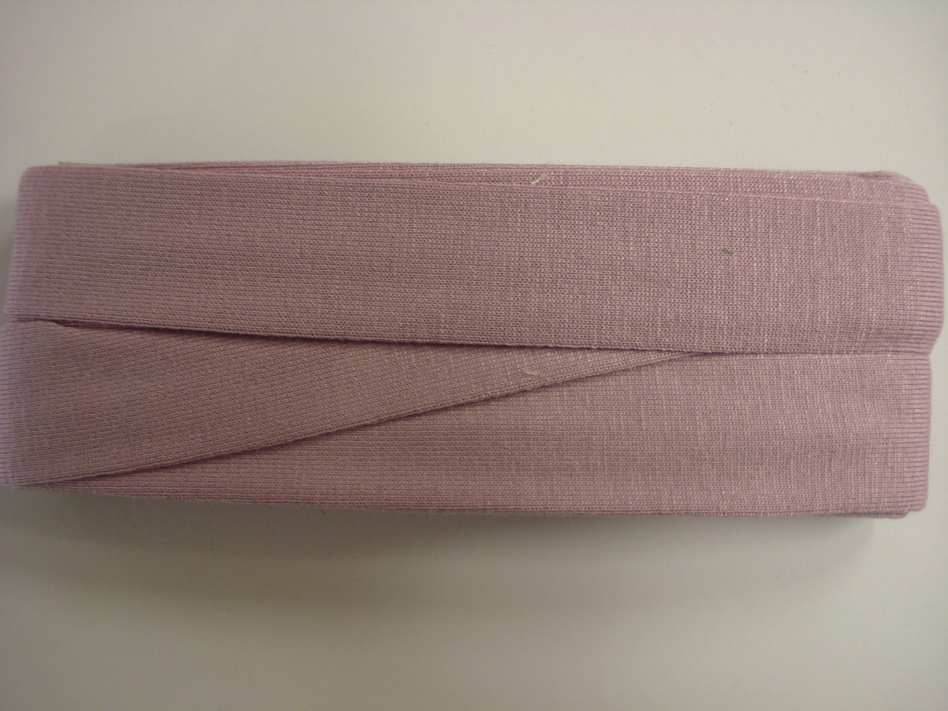 Biasband Tricot Dusty lavendel