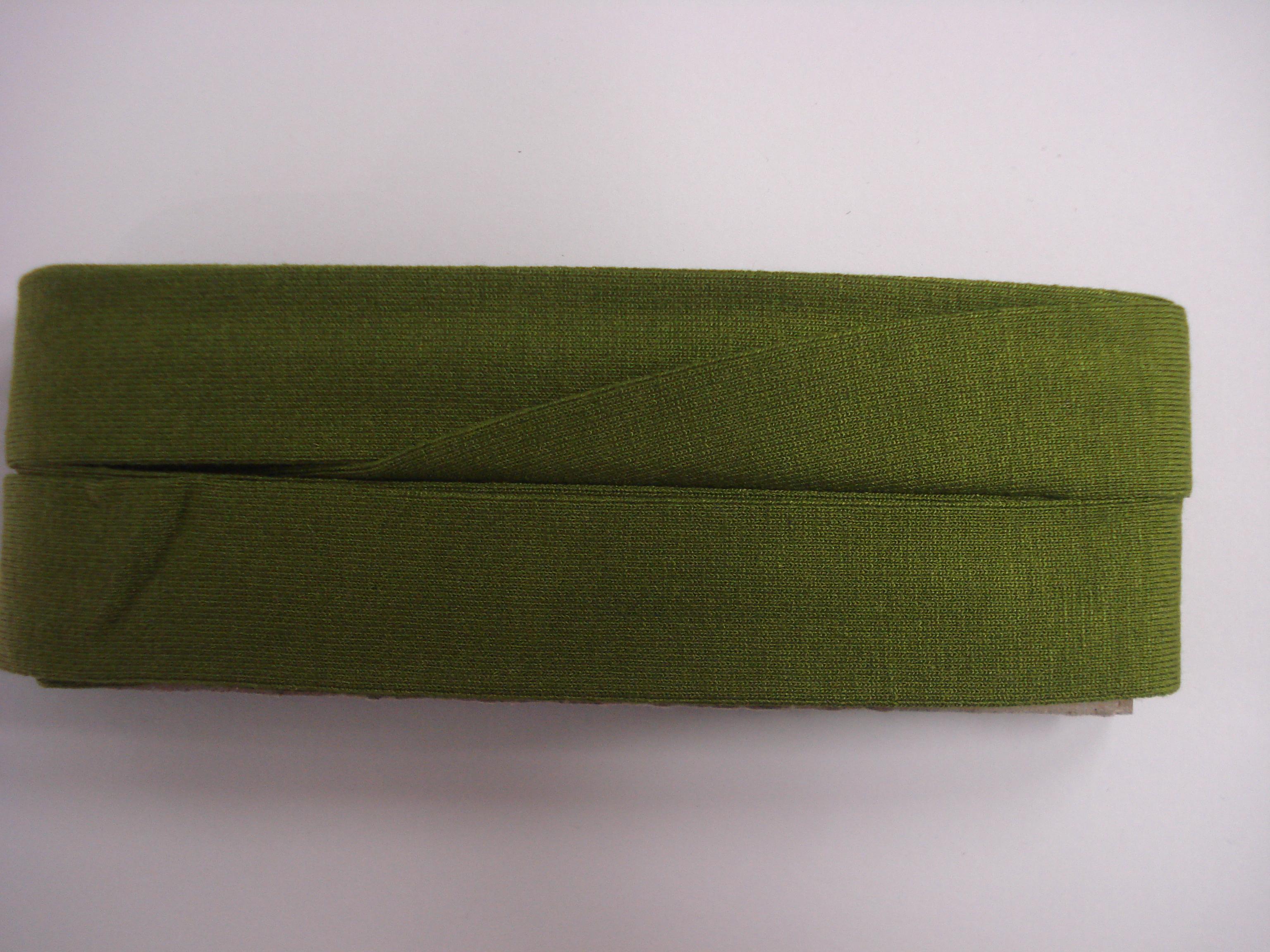 Biasband Tricot Groen