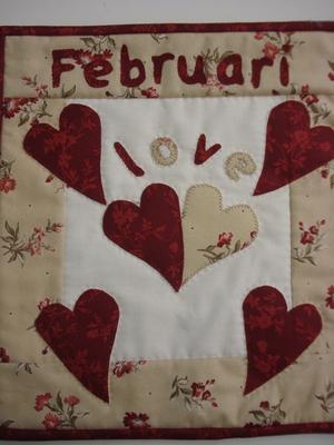 8 Blok van de maand februari