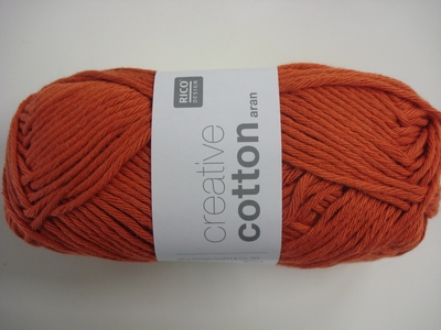 Creative cotton Aran - Leverbaar in 29 kleuren