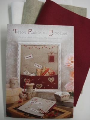 Zelfmaak pakket Tresor Feutres de Brodeuse by Marie Suares