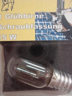 Naaimachine lampje kleine fitting