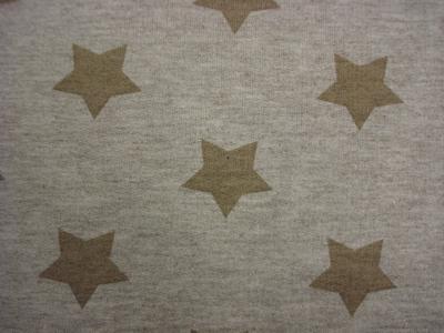 Jogging geruwd Stars beige