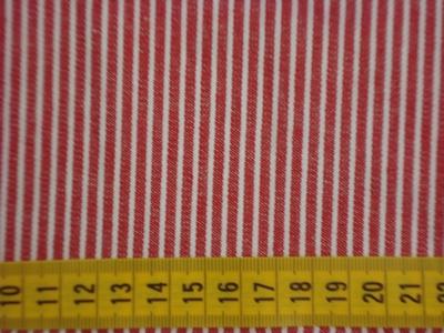 Jeans Oshkosh rood/wit 100%katoen