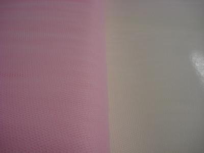 Tule 140 cm breed roze