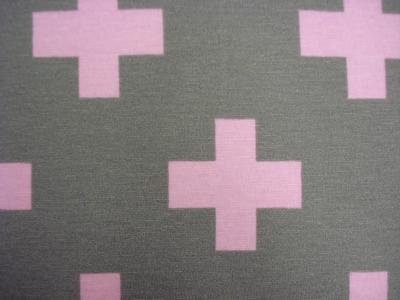 Grijs/roze Kruis 70% co, 30%pl