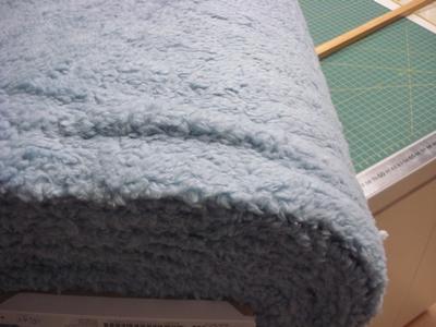 Borg Teddy 80% Katoen RS 0034-002 baby-blauw