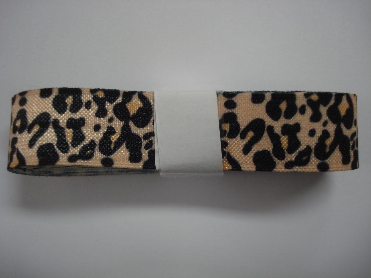 Elastisch Biasband panterprint