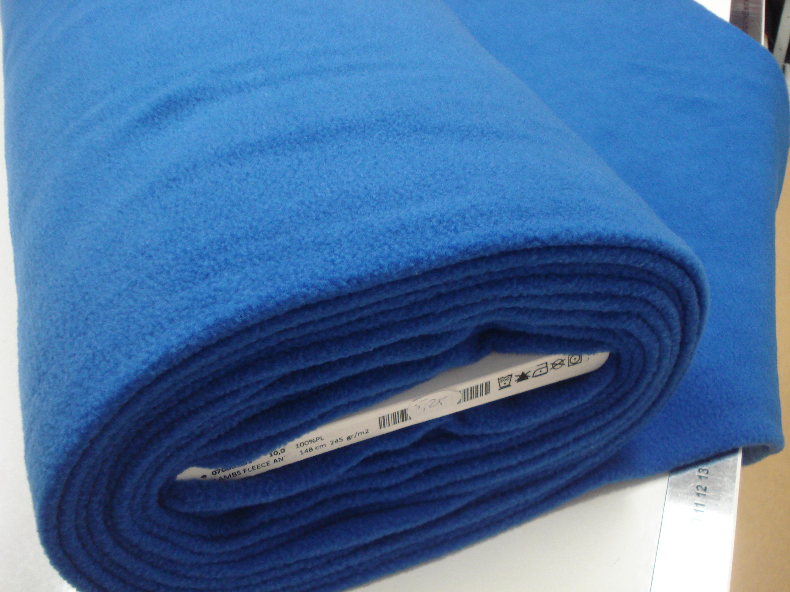 Fleece - royal blue