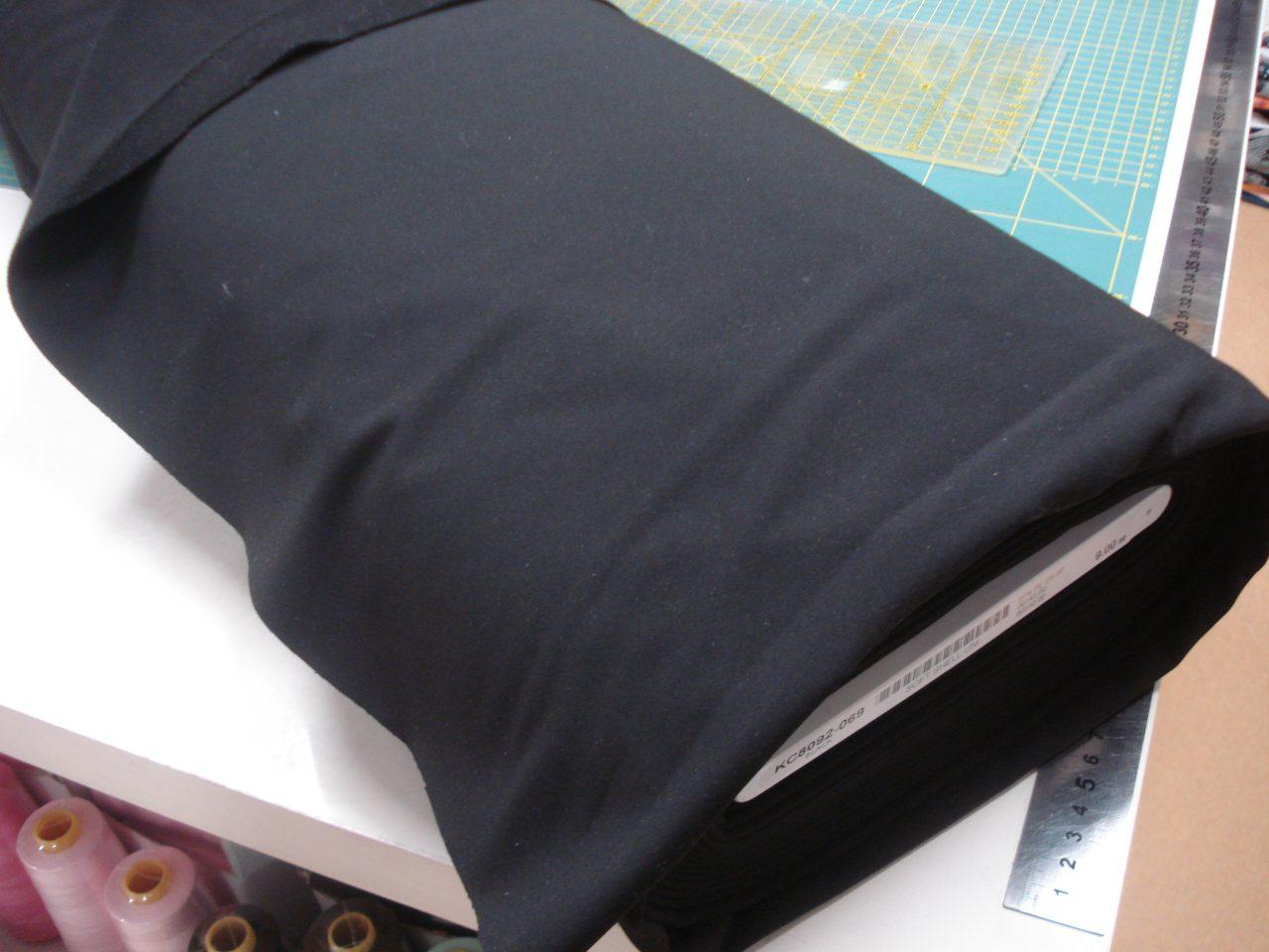 Softshell effen zwart €12,96 p/m