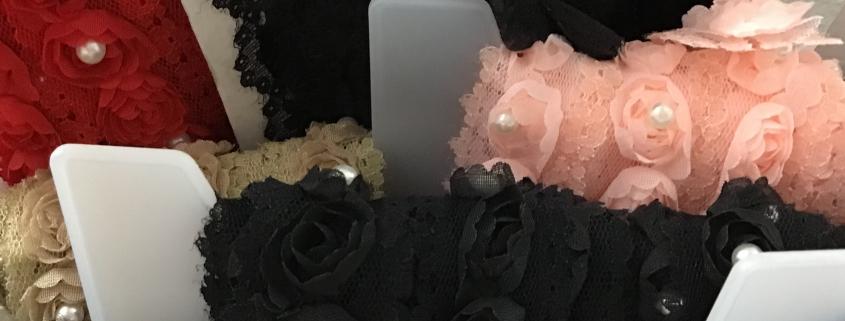 Kant met roosjes