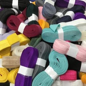 Biaisband elastisch of vouwtres