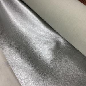 Imitatieleer niet rekbaar zilver €17,96 per meter