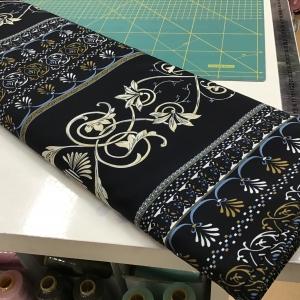 100% Polyester versacelike print € 10,00 p/m