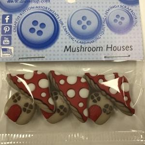 Dress it Up Mushroom Houses