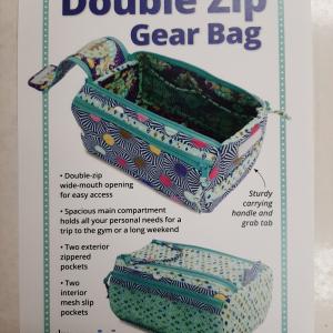 patroon double zip gear bag