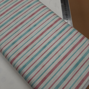 Melba by Leesa Chandler for Textilepantry Pink/teal/ivory 0011-6