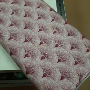 Melba by Leesa Chandler for Textilepantry Fan Pink/silver 0005-6