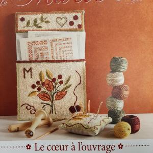 Les Broderies de Marie et Cie Le coeur á l'ouvrage nr.12