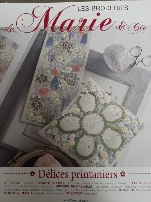 Les Broderies de Marie et Cie Délices printaniers nr. 10