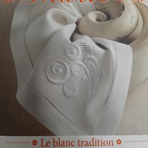 Les Broderies de Marie et Cie Le Blanc tradition nr. 7
