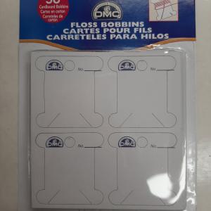 Kartonnen bobbins voor borduurzijde