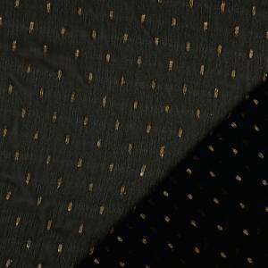 Milli Blu's Stretch Chiffon zwart met goud € 22,00 p/m