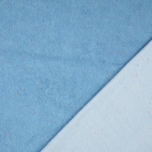 Milli Blu's Katoenen tricot badstof blauw €22,00 p/m