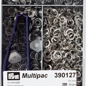 Prym Jersey of baby drukkertjes nikkel 10mm multipack