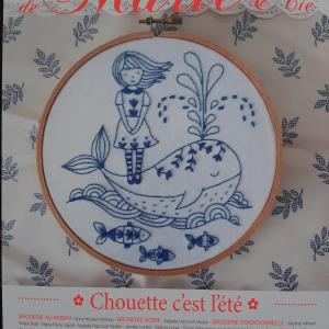 Les Broderies de Marie et Cie Chouette c'est l'été nr.15