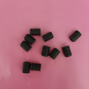 Elastiek verstellers voor mondkapjes zwart per 10 stuks