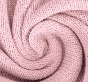 Katoen gebreid fijn kleur roze
