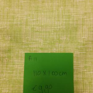 A11 coupon 110cm x 110cm 100% katoen quiltstof